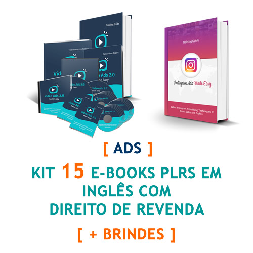 kit 15 ebooks ads