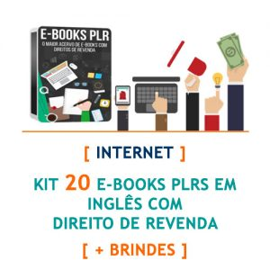 kit 20 e-books internet