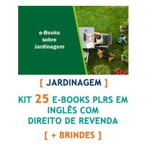 kit 25 ebooks jardinagem