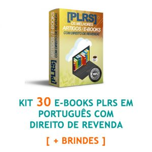 Kit 30 e-books