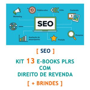 kit 13 ebooks seo