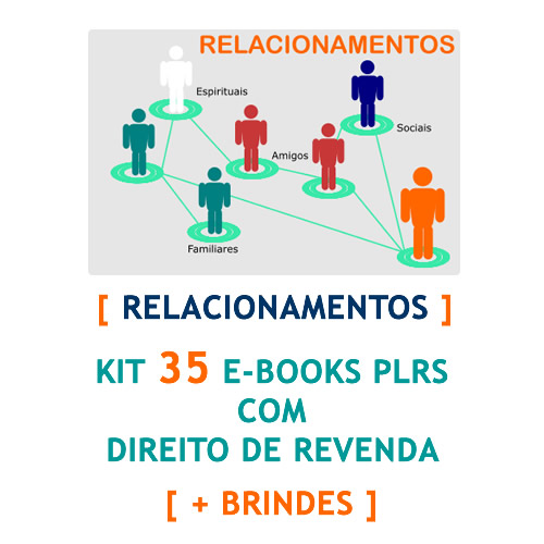 kit 35 e-books relacionamentos