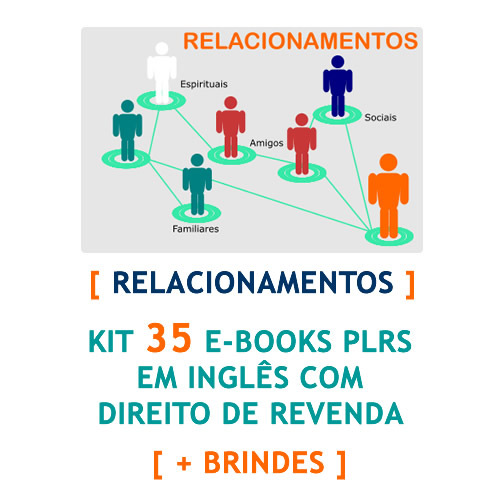 kit 35 ebooks relacionamentos